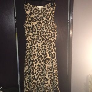 Leopard print dress like new!